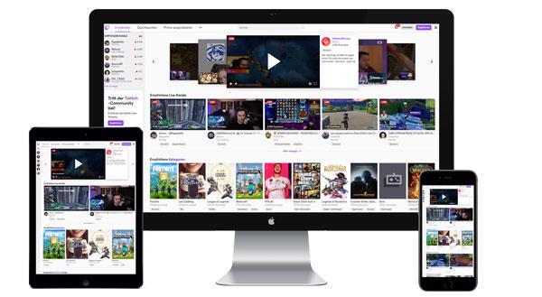 Werbung auf Twitch.tv