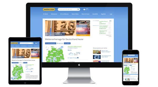 Werbung auf wetter.com buchen