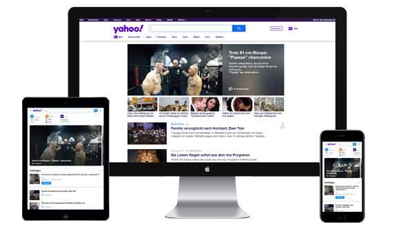 Werbung auf yahoo.de buchen