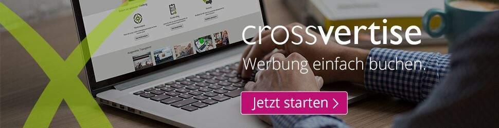 Beispiel Bannerwerbung crossvertise