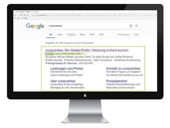SEA - Werbung bei Google