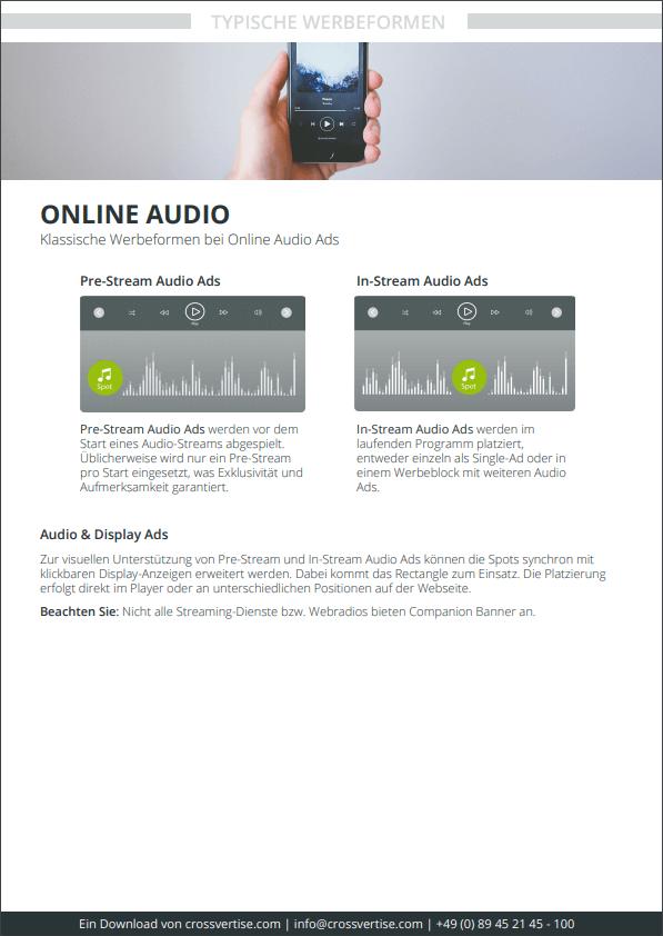 Spezifikation Online Audio