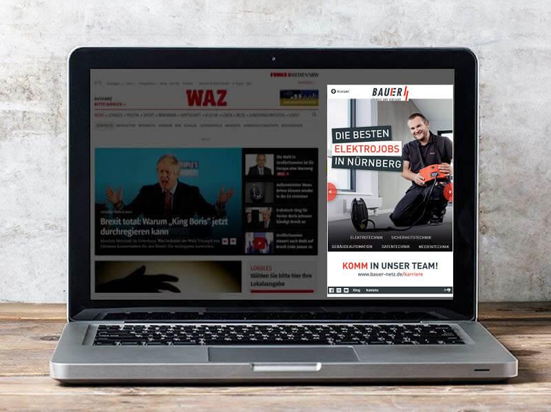 Beispiel: Content Engagement Ad