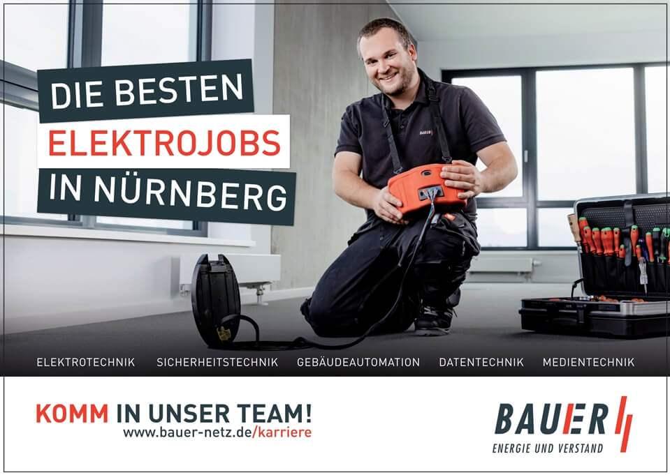 BAUER Elektroanlagen - Plakatmotiv