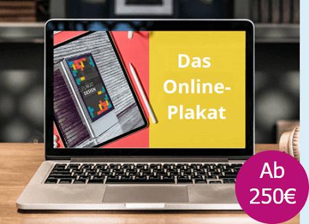 Das Online-Plakat - Ihr Plakat-Motiv als Banner im Web