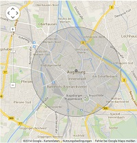 Lokale Suchmaschinenwerbung in Augsburg