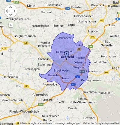 Onlinewerbung in Bielefeld