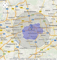 Regionale Suchmaschinenwerbung in Bochum