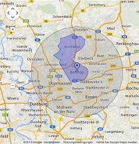 Regionale Suchmaschinenwerbung in Bottrop