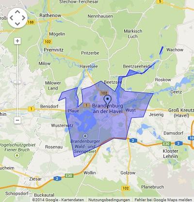 Onlinewerbung in Brandenburg