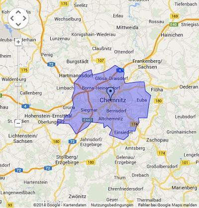 Onlinewerbung in Chemnitz