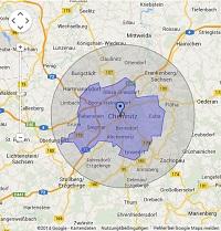 Regionale Suchmaschinenwerbung in Chemnitz