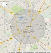 Lokale Suchmaschinenwerbung in Chemnitz