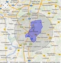 Regionale Suchmaschinenwerbung in Darmstadt