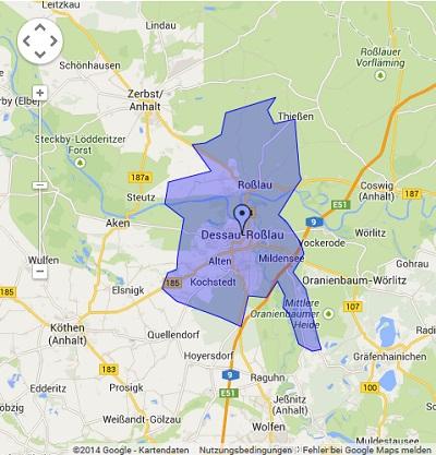 Onlinewerbung in Dessau-Roßlau