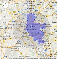 Regionale Suchmaschinenwerbung in Düsseldorf