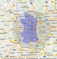 Regionale Suchmaschinenwerbung in Duisburg