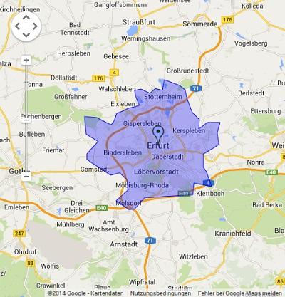 Onlinewerbung in Erfurt