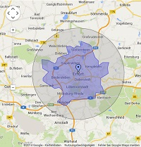 Regionale Suchmaschinenwerbung in Erfurt