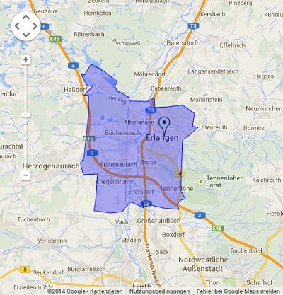Onlinewerbung in Erlangen