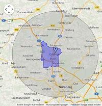 Regionale Suchmaschinenwerbung in Erlangen