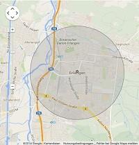 Lokale Suchmaschinenwerbung in Erlangen