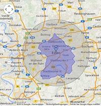 Regionale Suchmaschinenwerbung in Essen