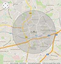 Lokale Suchmaschinenwerbung in Essen