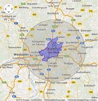 Regionale Suchmaschinenwerbung in Frankfurt/Main