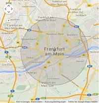 Lokale Suchmaschinenwerbung in Frankfurt/Main
