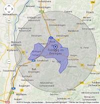 Regionale Suchmaschinenwerbung in Freiburg