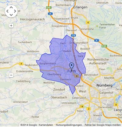 Onlinewerbung in Fürth