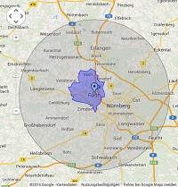 Regionale Suchmaschinenwerbung in Fürth
