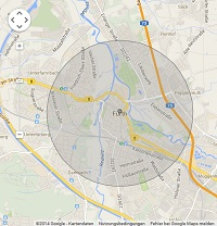 Lokale Suchmaschinenwerbung in Fürth