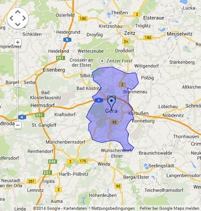 Onlinewerbung in Gera