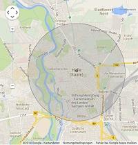 Lokale Suchmaschinenwerbung in Halle