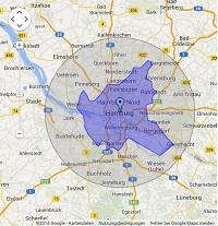 Regionale Suchmaschinenwerbung in Hamburg