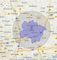Regionale Suchmaschinenwerbung in Hamm
