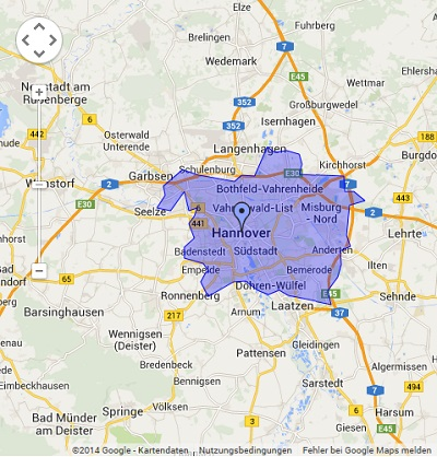 Onlinewerbung in Hannover