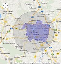 Regionale Suchmaschinenwerbung in Hannover