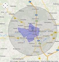 Regionale Suchmaschinenwerbung in Ingolstadt