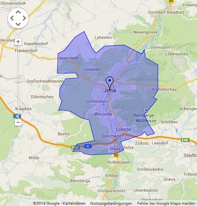 Onlinewerbung in Jena