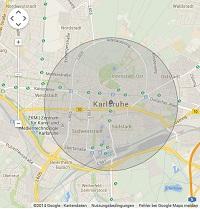 Lokale Suchmaschinenwerbung in Karlsruhe