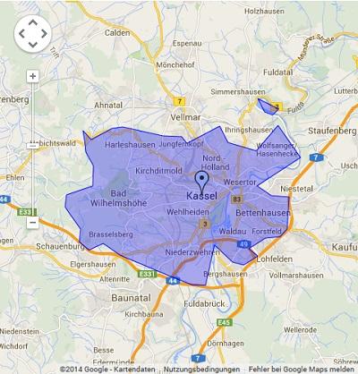 Onlinewerbung in Kassel