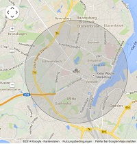 Lokale Suchmaschinenwerbung in Kiel