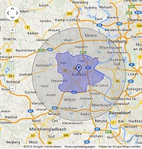 Regionale Suchmaschinenwerbung in Krefeld