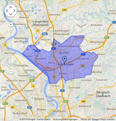 Onlinewerbung in Leverkusen