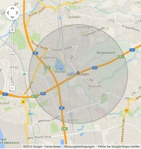 Lokale Suchmaschinenwerbung in Leverkusen