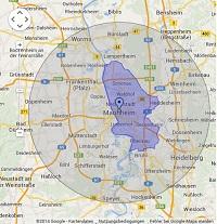 Regionale Suchmaschinenwerbung in Mannheim