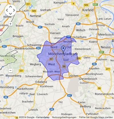 Onlinewerbung in Mönchengladbach